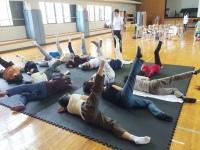 地区市民館 腰痛・膝痛・肩こり教室を終えて・1