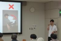 【豊橋創造大学 特定研修施設公開講座を開催しました】・2