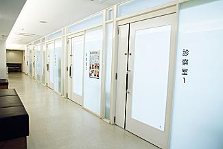 外来 -中待合廊下